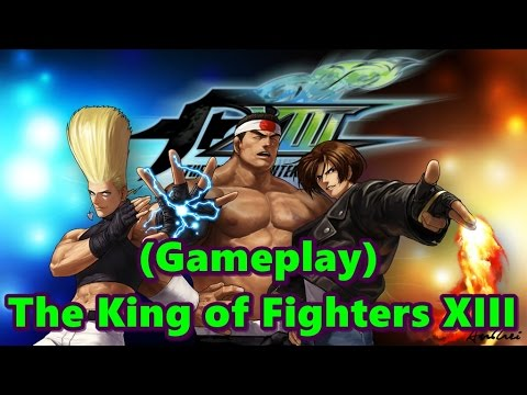 Um Pouco Do Jogo The King Of Fighters Xiii Pc Xbox360 Ps3