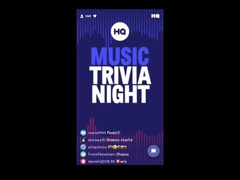 MUSIC TRIVIA NIGHT 🎵 - HQ TRIVIA!