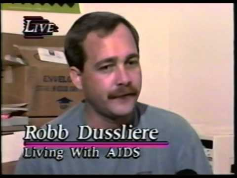 Robb Dussliere and Ken Gullette Live on WHBF 1995