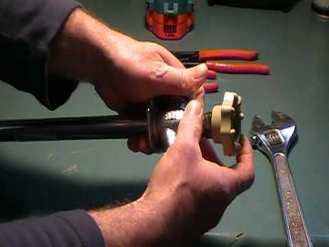 How to repair a leaky outside faucet or spigot (hosebib).