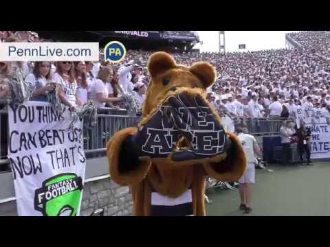 Scenes from the Sidelines: Penn State's win over Pitt