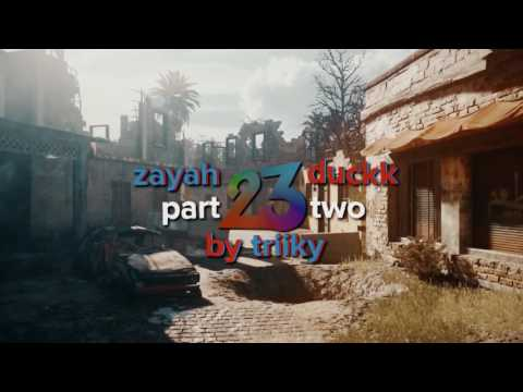 Zayah and Duckk 23rd - A Dual Trickshotting Montage