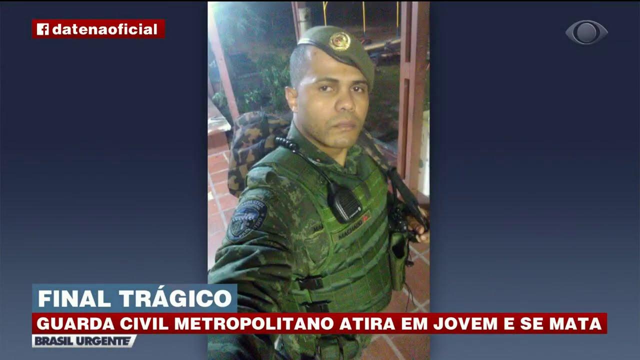 GUARDA CIVIL METROPOLITANO ATIRA EM JOVEM E SE MATA