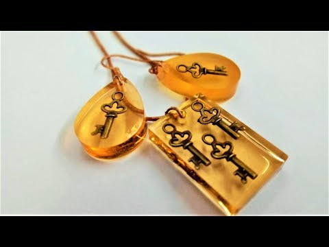How to make Resin Jewelry - DIY Resin Craft - DIY Epoxy Resin Craft