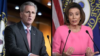 Gambar cover WATCH LIVE: Pelosi, McCarthy hold news conferences as coronavirus stimulus bill heads to House
