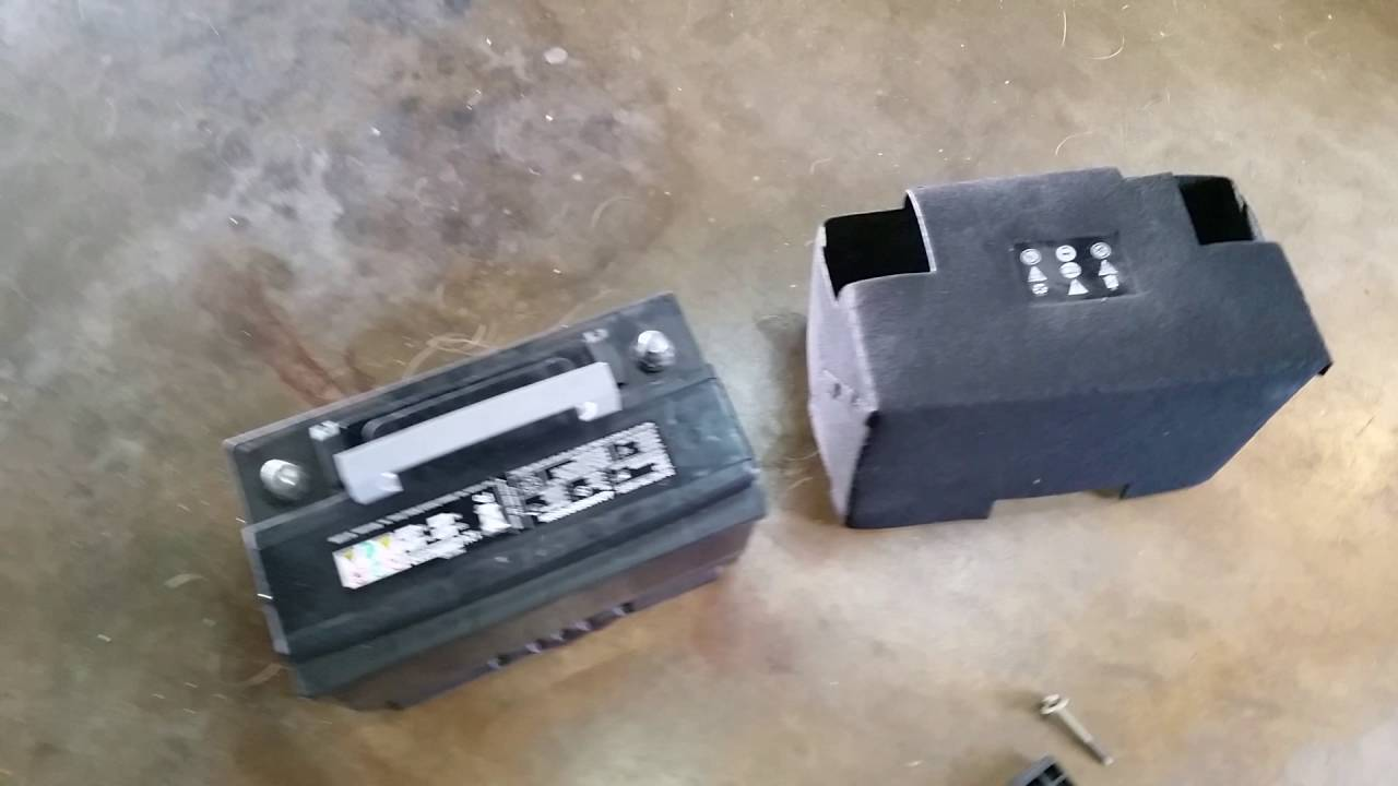 2014 Jeep Cherokee Battery >> 2014 2018 Jeep Cherokee 12v Automotive Battery Removed Replacing