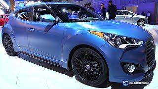 2016 Hyundai Veloster R Spec Rally Edition Exterior and Interior Walkaround 2015 LA Auto Show