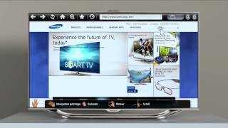 Samsung Smart TV INTERACTIONS - Gamme 2012 séries ES8000 ES7000 - Hifissimo