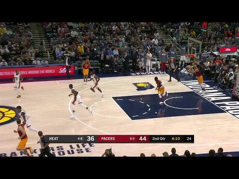 2nd Quarter, One Box Video: Indiana Pacers vs. Miami Heat