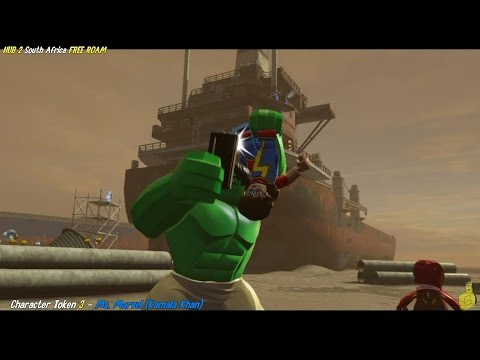 Lego Marvel Avengers: HUB 2 / South Africa FREE ROAM (All Collectibles) - HTG