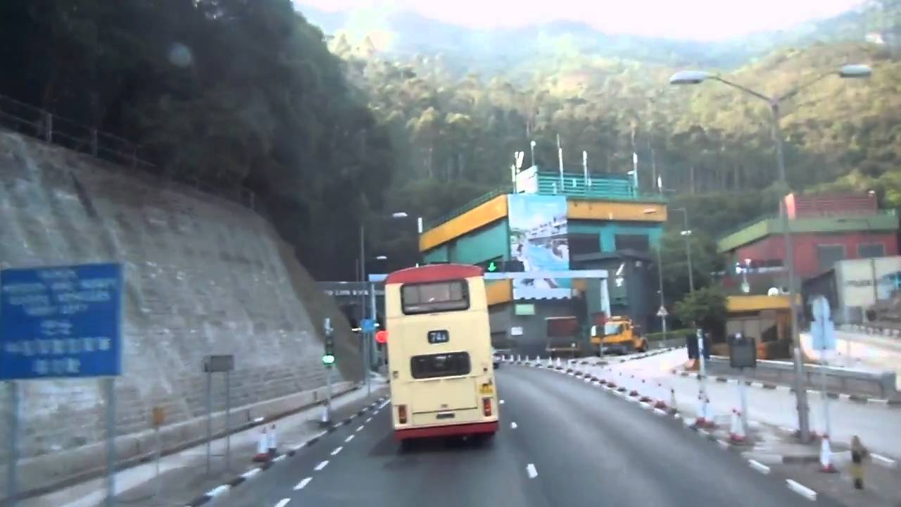 KMB S ATE3 KY3126@271 映月臺-獅子山隧道收費廣場 - YouTube