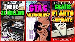 🙌ALLE Neuen Inhalte!🙌 2X DOLLAR! F1 UPDATE! GTA 6 ART? + Mehr! [GTA 5 Online Casino Heist Update]