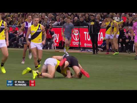 Round 16 AFL: St Kilda v Richmond Highlights
