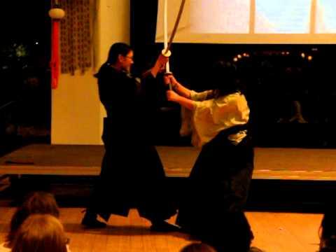 Samurai Reenactment 2 - Wellesley College