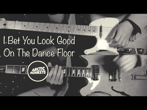 I Bet You Look Good On The Dance Floor - Arctic Monkeys( Guitar Tab Tutorial & Cover )
