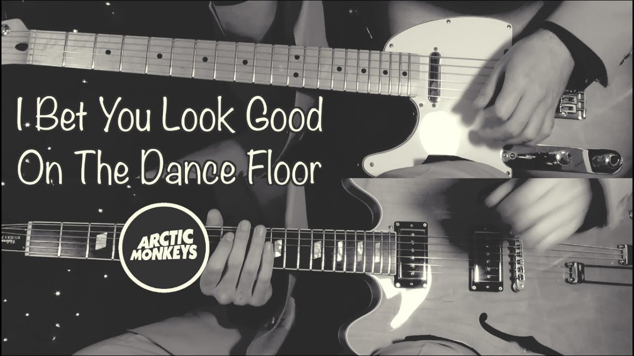 I Bet You Look Good On The Dance Floor - Arctic Monkeys  ( Guitar Tab Tutorial & Cover )