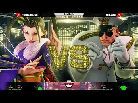 DTR:TE #40 - SFV - Grand Finals - [W] ThatToffee (Ibuki) vs. [L] Nashu (Guile)