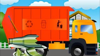 Garbage Truck Videos And Garbage Trucks For Kids - Monster Trucks For Kids Videos 2019