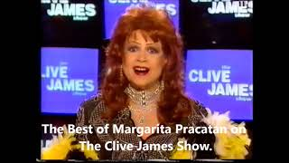 The Best of Margarita Pracatan on The Clive James Show