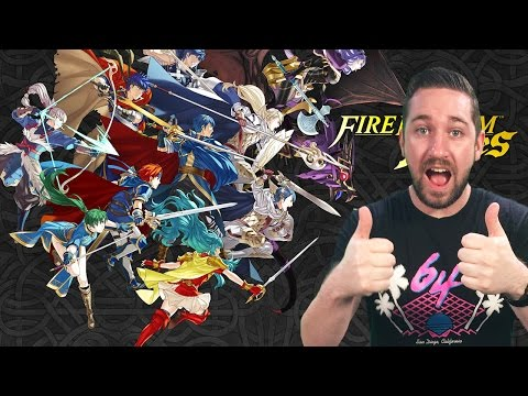 Tim Gettys Talks Over the Fire Emblem Direct (Live Reactions!)