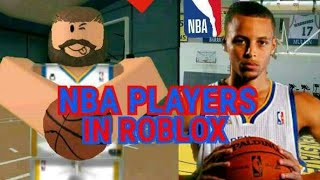 [TEIL 1] NBA PLAYERS IN ROBLOX✅