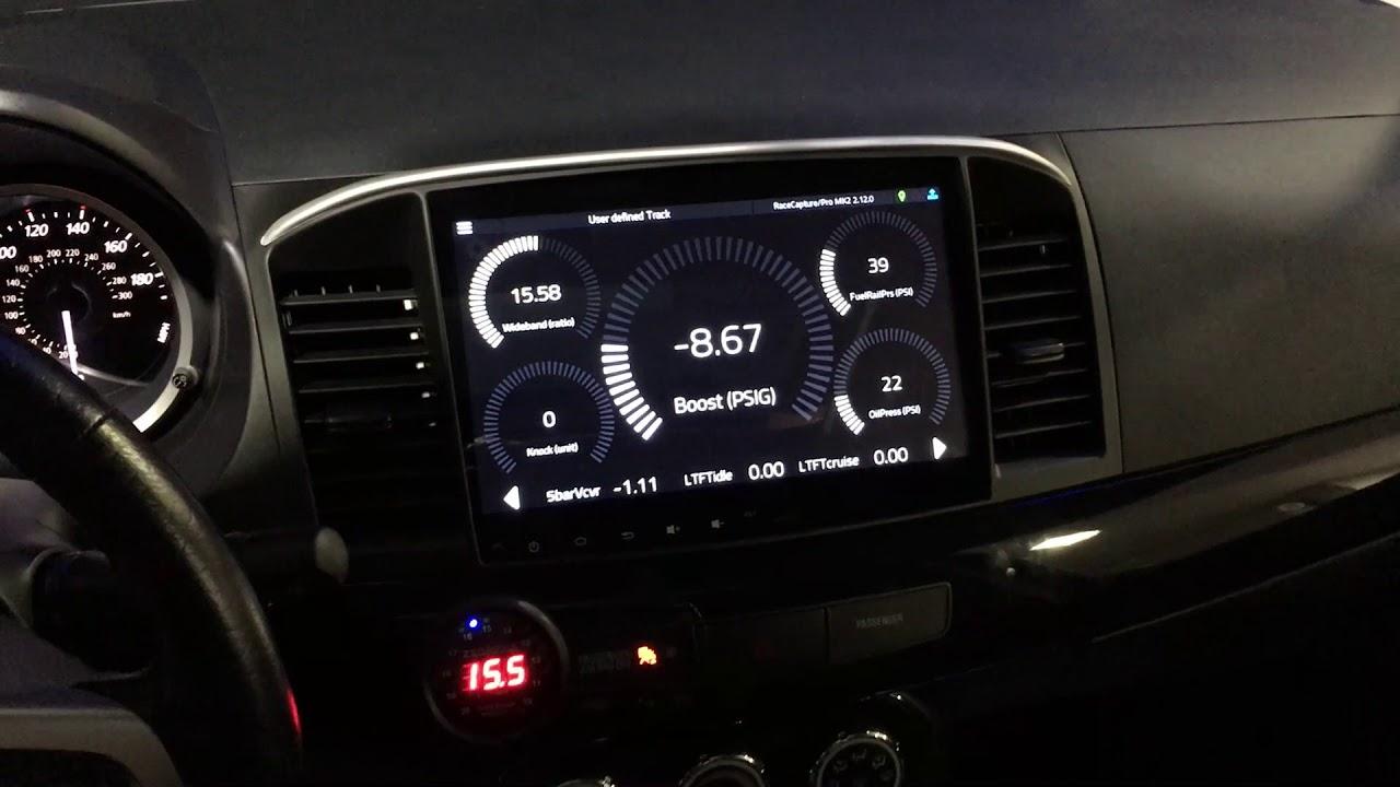 Evo X Head Unit | British Automotive