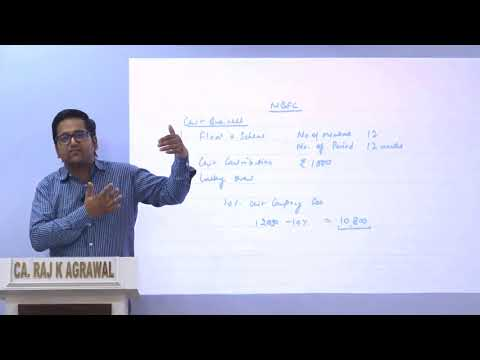 Accounting for NBFC | Non-Banking Financial Companies by CA Raj K Agrawal
