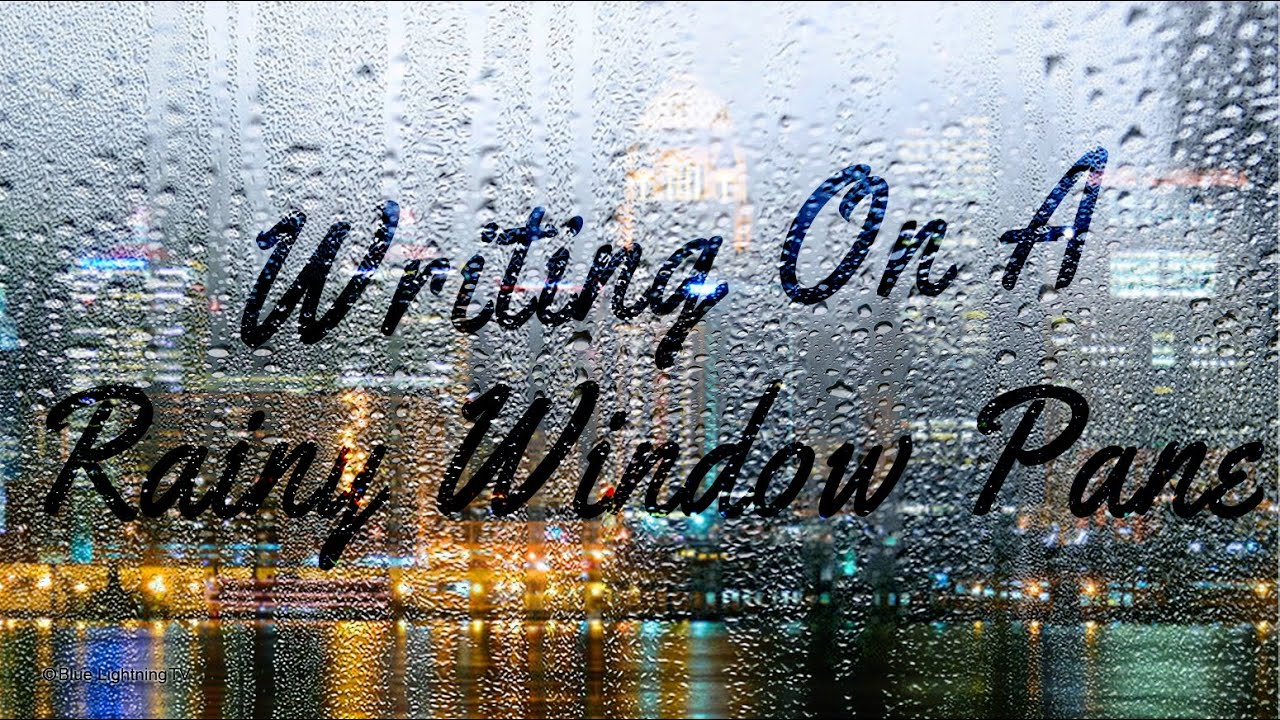 how to create rain photoshop