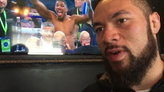 "JOSEPH PARKER: ""I WILL KO BOTH ANTHONY JOSHUA & DEONTAY WILDER""!!"
