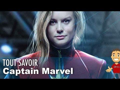 Captain Marvel : TOUT savoir sur le film ! Date, histoire, cast, etc ...