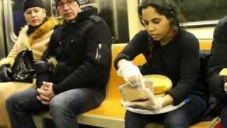 Subway Cake Performance 02/11/14