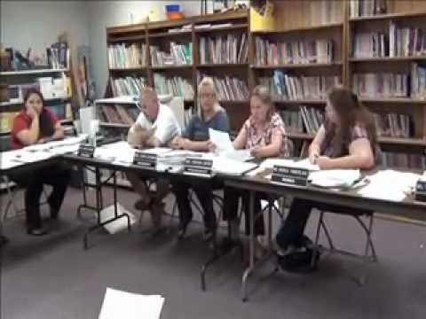 Quartzsite Elementary School Budgit Meeting 5-8-12 .wmv