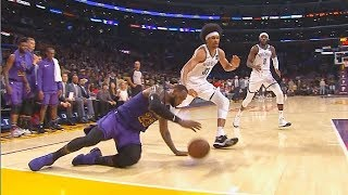 LeBron James Almost Injured After Slipping & Gets Eliminated From 2019 NBA Playoffs! Lakers vs Nets