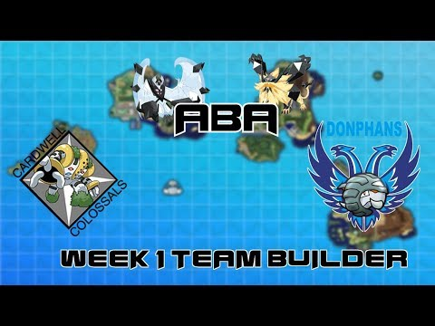 ABA S2 Week 1 Team Builder Vs- Donphans Groningen
