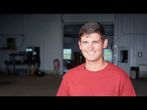Brett Grobe, a Young Grower from Elyria, Ohio