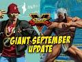 Classic Urien, Stage Ko's & Flavorflav Ryu!? Street Fighter 5 September Update video