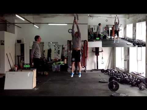 Workout 13.1 - Max Dokuchaev. Crossfit Open 2013