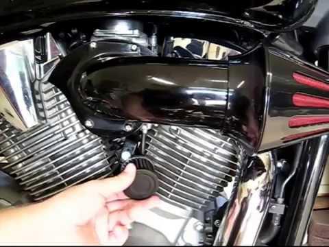 SMT MOTO Motorcycle Air Cleaner Kits intake filter Yamaha Vstar V-Star 650 all year 1986-2012 CHROME