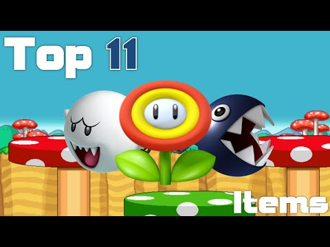 Top 11 - Mario Kart Items