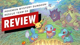 Pokemon Mystery Dungeon: Rescue Team DX Review (Video Game Video Review)