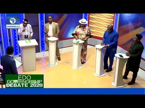 Full Video: Five Candidates Debate Over The Future Of Edo