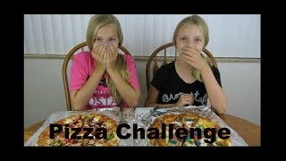 Pizza Challenge ~ Jacy and Kacy