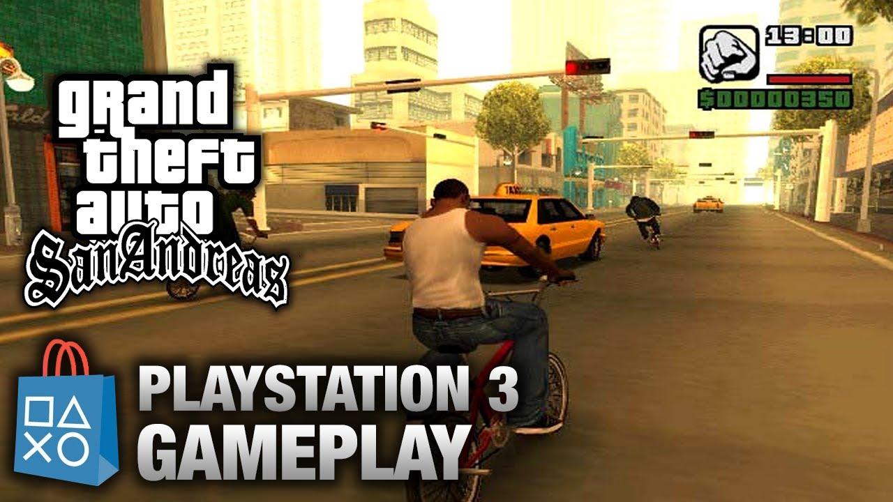 Gta San Andreas  Playstation 3 Gameplay (psn) Youtube