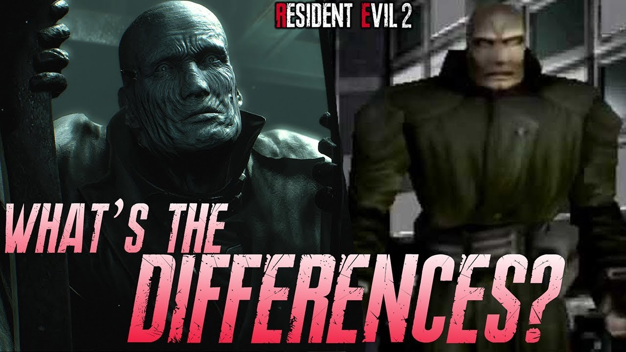 Mr X Resident Evil 2 Remake Differences With The Original And