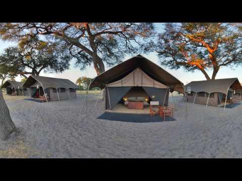 360 VR Video of  Savute Under Canvas andBeyond, Botswana