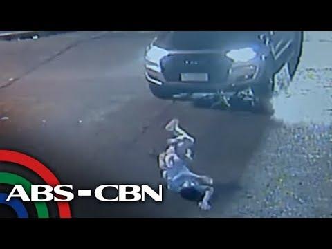 SAPUL SA CCTV: Binatilyong naka-bisikleta, 2 beses nabundol