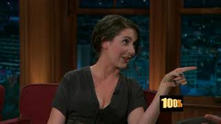 Alison Brie The Late Late Show with Craig Fergus...