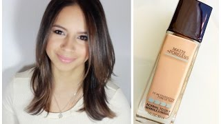 REVIEW & DEMO: MAYBELLINE FIT ME MATTE & PORELESS FOUNDATION Thumbnail