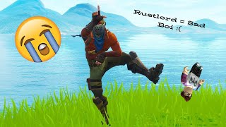 Rust Lord = Sad boi no skin :( (Fortnite Batle Royale)