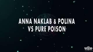 Anna Naklab & Polina vs Pure Poison - Alright | Official Lyric Video